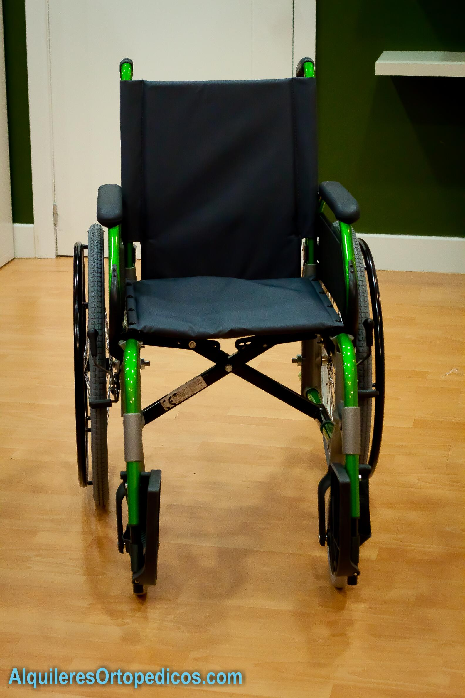 Silla de ruedas rueda grande alquileres ortop dicos - Ruedas de sillas ...